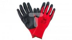 Rękawice robocze 1003 poliester/latex rozmiar 7 1003_7