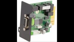 Karta styków bezpotencjałowych do UPS IPS online. Wyjścia przekaźnikowe. Zdalne sterowanie przewodowe KU-CARD-AS400-ON