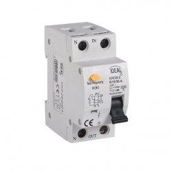 Wyłącznik różnicowo-prądowy z zabezpieczeniem nadmiarowo-prądowym KRO6-2/B6/30 23220