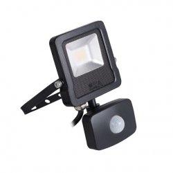 Naświetlacz LED z czujnikiem ruchu ANTOS LED 10W-NW-SE B 27094