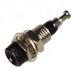 Gniazdo panelowe 2mm GL4-BK 10A, czarne   SCI