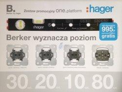 Berker one.platform + POZIOMICA GRATIS