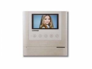 CDV-43M(DC) WHITE kolorowy ekran LCD 4,3 z doświetleniem LED, obsługa dwóch wejść - możliwość rozszerzenia przez MD-KAM2/4