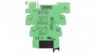 Moduł przekaźnika półprzewodnikowego 1-fazowy 1Z 15A we: 24V DC, wy: 3-33V DC PLC-OSC- 24DC/ 24DC/ 2 2966634