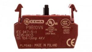 Blok styków pomocniczych /montaż w ramce/ 1Z P9B10VN 187002