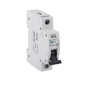 Wyłącznik nadmiarowo-prądowy, 1P KMB6-B10/1 23141