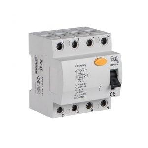 Wyłącznik różnicowo-prądowy, 4P KRD6-4/40/30-A 23192