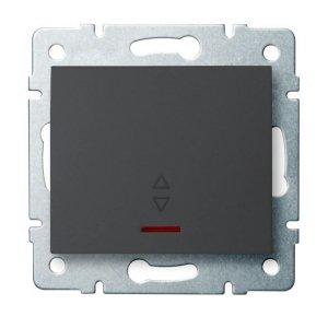 Łącznik schodowy LED LOGI 02-1140-141 gr 25259