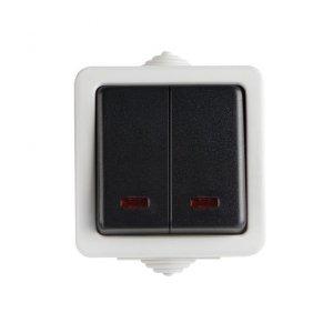 Łącznik schodowy LED TEKNO 05-1140-143 cz 25354