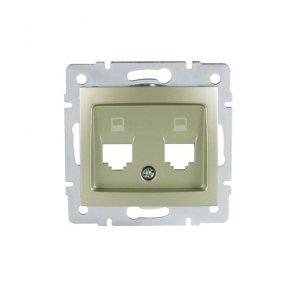 Adapter gniazda RJ45 DOMO 01-1419-050 sz 25935