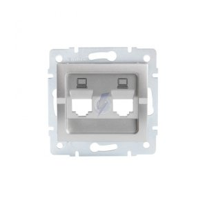 Adapter gniazda RJ45 LOGI 02-1419-043 sr 25938
