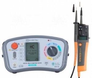 KEW6016+KT171 Zestaw wielofunkcyjny miernik instalacji elektrycznej i tester