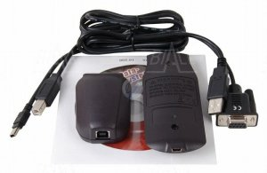 Kit BRUA-19X Kabel USB+program do BM197, BM195