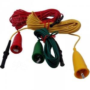 KEW7095A Przewody pomiar. 5/10/20m do 4105A/4102A