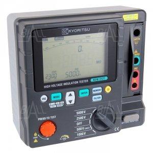KEW3127 Miernik rezystancji izolacji 250V-5000V, DAR, PI, RAMP   Kyoritsu