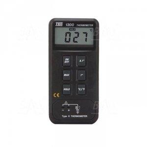 TES1300 Termometr 1 kanał -50 do 1300°C z wyj. do rejestratora