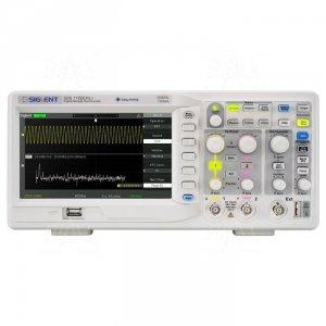 SDS1102CML+ oscyloskop 100MHz, 2kan, 1GSa/s, 2Mpts