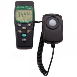 TM209 Luksomierz 0,01~400 000 lx ,MEM do diod LED TENMARS