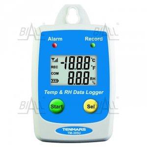 TM305U Termohigrometr rejestrator IP54, -40~ 85°C, 1~ 99% RH TENMARS