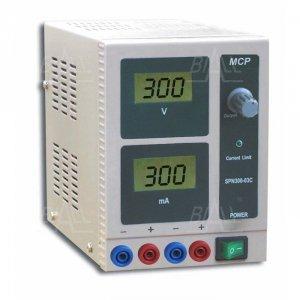 Zasilacz lab wysokonapięciowy SPN300-3C DC 300V/300mA MCP
