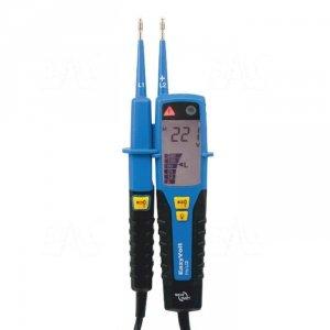 Eazy Volt PRO LCD Tester elektryka 1..1000VAC, 1..1500VDC znak bezpieczeństwa B