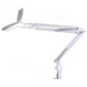 Lampa warsztatowa LED SMD z lupą (127x78) 8095LED-2-A 3D 7W
