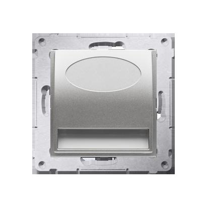 Oprawa oświetleniowa LED, 230V srebrny mat, metalizowany