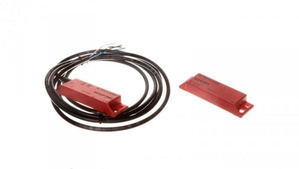 Wyłącznik magnetyczny bezpieczeństwa 2R 24V DC przewód 2m bezpieczeństwa XCSDMP7902