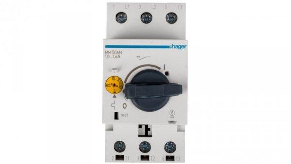 Wyłącznik silnikowy 3P 0,55kW 1-1,6A MM506N