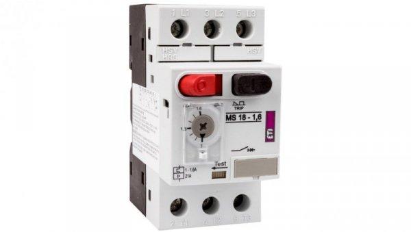 Wyłącznik silnikowy 3P 0,55kW 1-1,6A MS18 004600345