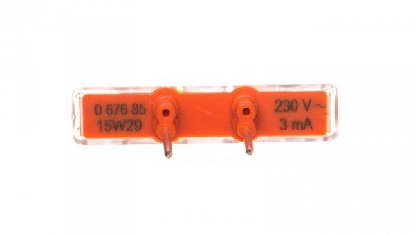 Wskaźnik podświetlenia LED 230V 067685