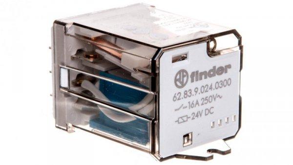 Przekaźnik miniaturowy 3Z 16A 24V DC na panel Faston 250 62.83.9.024.0300