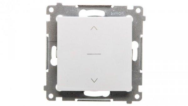 Simon 54 Premium Łącznik żaluzjowy trójpozycyjny 1-0-2 biały DZW1K.01/11