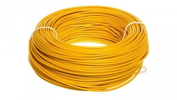 Przewód instalacyjny H07V-K (LgY) 2,5 żółty /100m/