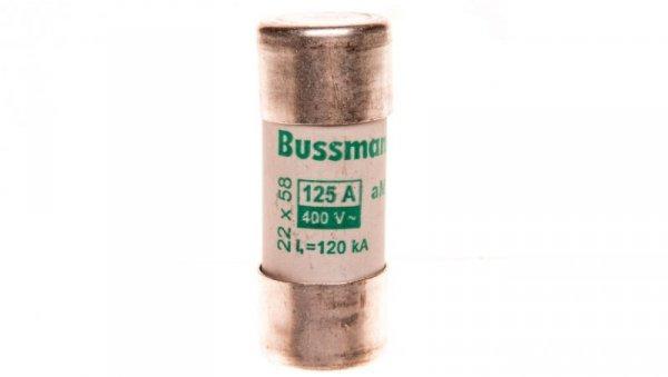 Wkładka cylindryczna CYLINDRICAL FUSE 22x58mm 125A AM 400V AC C22M125