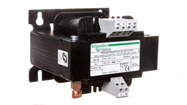 Transformator 1-fazowy 0,32kVA 230/24V ABT7ESM032B