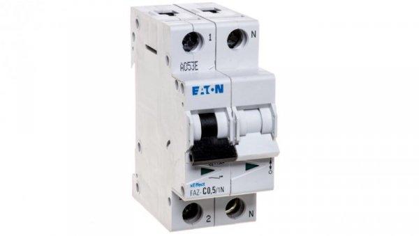 Wyłącznik nadprądowy 1P+N C 0,5A 15kA AC FAZ C0,5/1N 278657