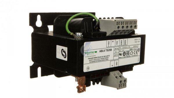 Transformator 1-fazowy 250VA 230 /400V / 24V ABL6TS25B