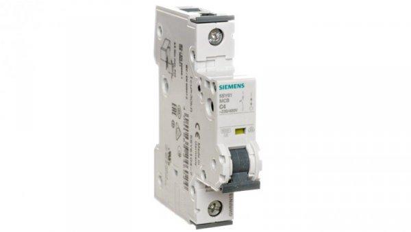 Wyłącznik nadprądowy 1P C 4A 6kA 5SY6104-7