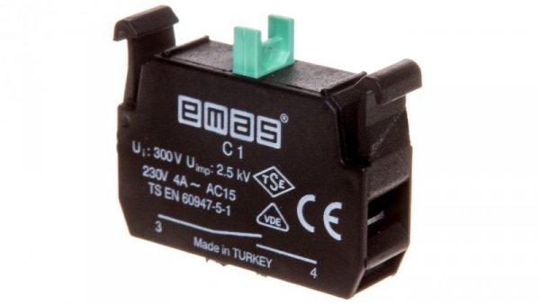 Styk pomocniczy 1Z montaż czołowy T0-C1