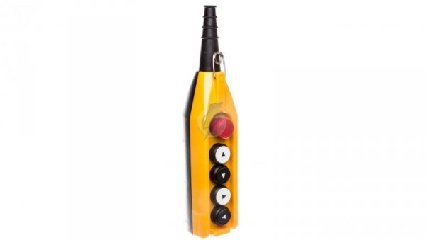 Kaseta sterownicza kompletna 4 przyciski 22mm + 1 30mm T0-PV5E30B22