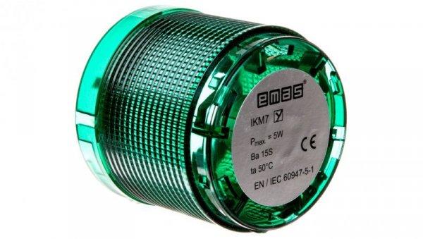 Moduł świetlny bez źródła światła zieloy do kolumn sygnalizacyjnych T0-IKM7Y
