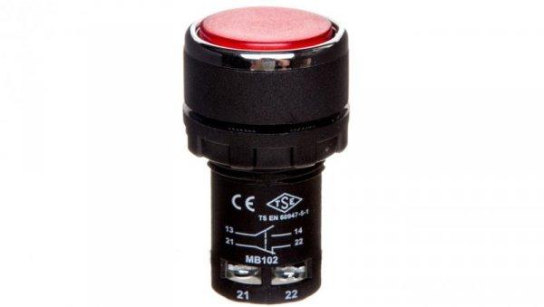 Przycisk sterowniczy monoblok czerwony 1Z 1R T0-MB102DK