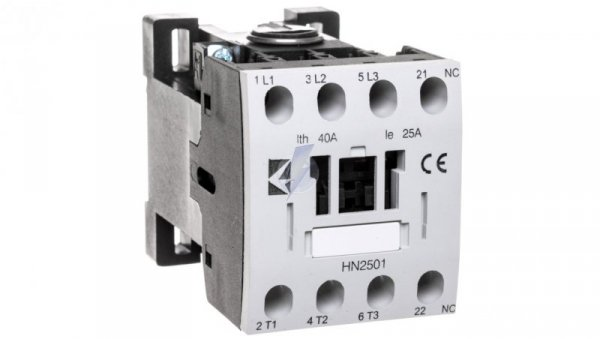 Stycznik mocy 25A 3P 230V AC 0Z 1R T0-HN2501NUE