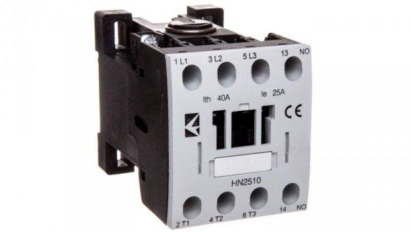 Stycznik mocy 25A 3P 230V AC 1Z 0R T0-HN2510NUE