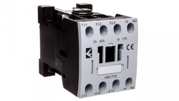 Stycznik mocy 17A 3P 230V 1Z 0R AC T0-HN1710NUE