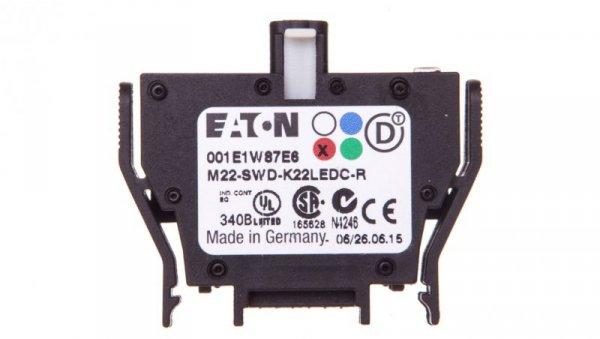 Styk pomocniczy 2P z diodą LED czerwoną montaż czołowy SmartWire-DT 116012