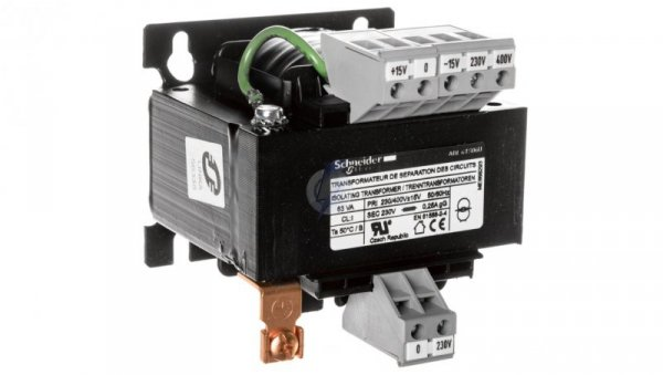 Transformator 1-fazowy 63VA 230(400)V/230V ABL6TS06U