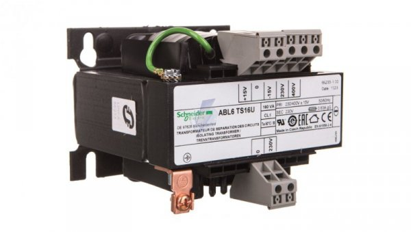 Transformator 1-fazowy 160VA 230(400)V/230V ABL6TS16U
