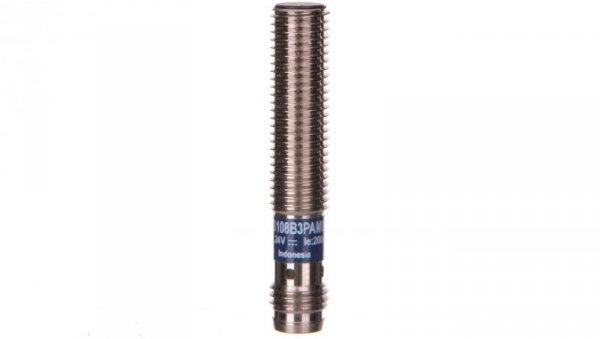 Czujnik indukcyjny M8 2mm 12-24V DC PNP 1Z M8 3-piny XS108B3PAM8